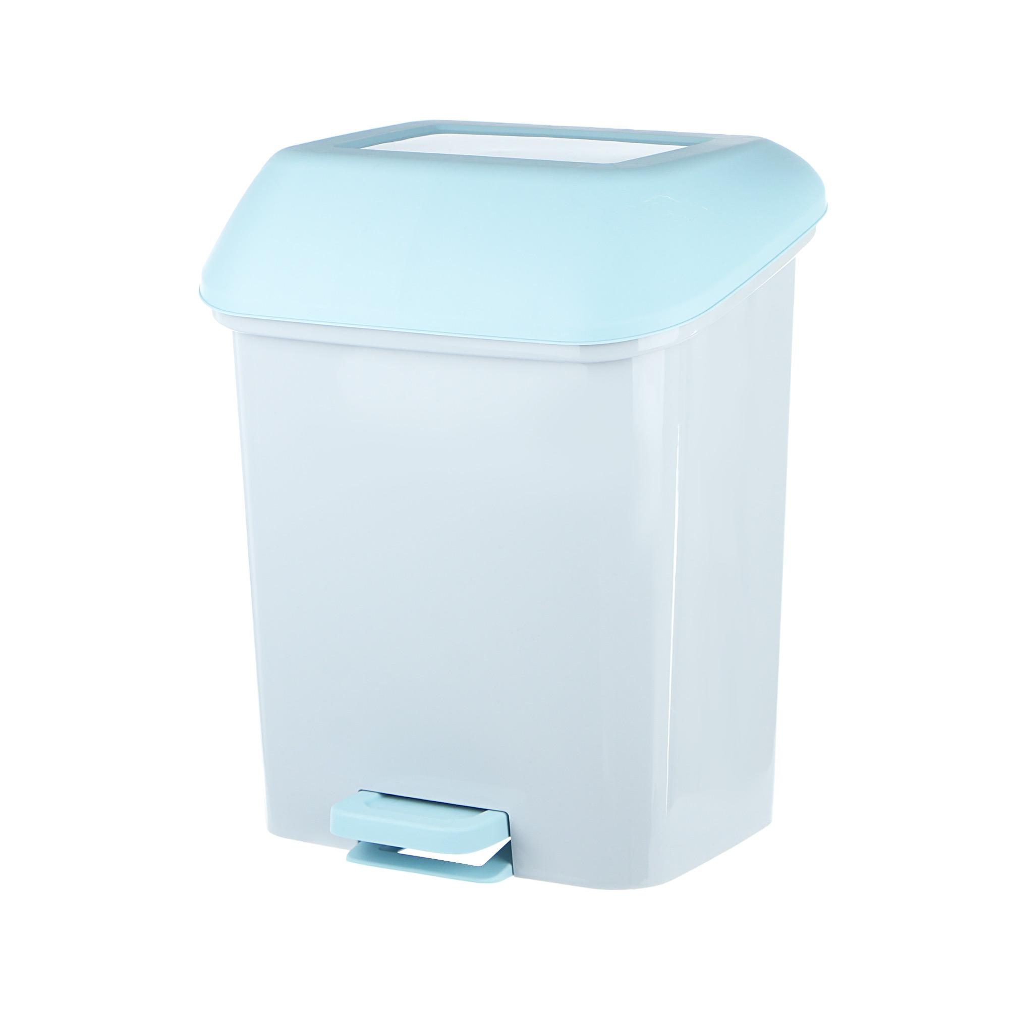 Контейнер для мусора с педалью Квадра 15 л контейнер пластиковый для мусора ese 120 л желтый