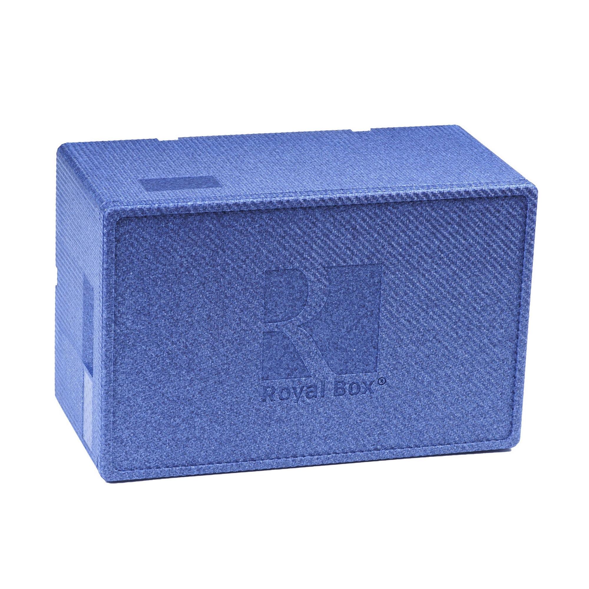 Контейнер изотермический Royal Box UNIQUE BLUE 32 л