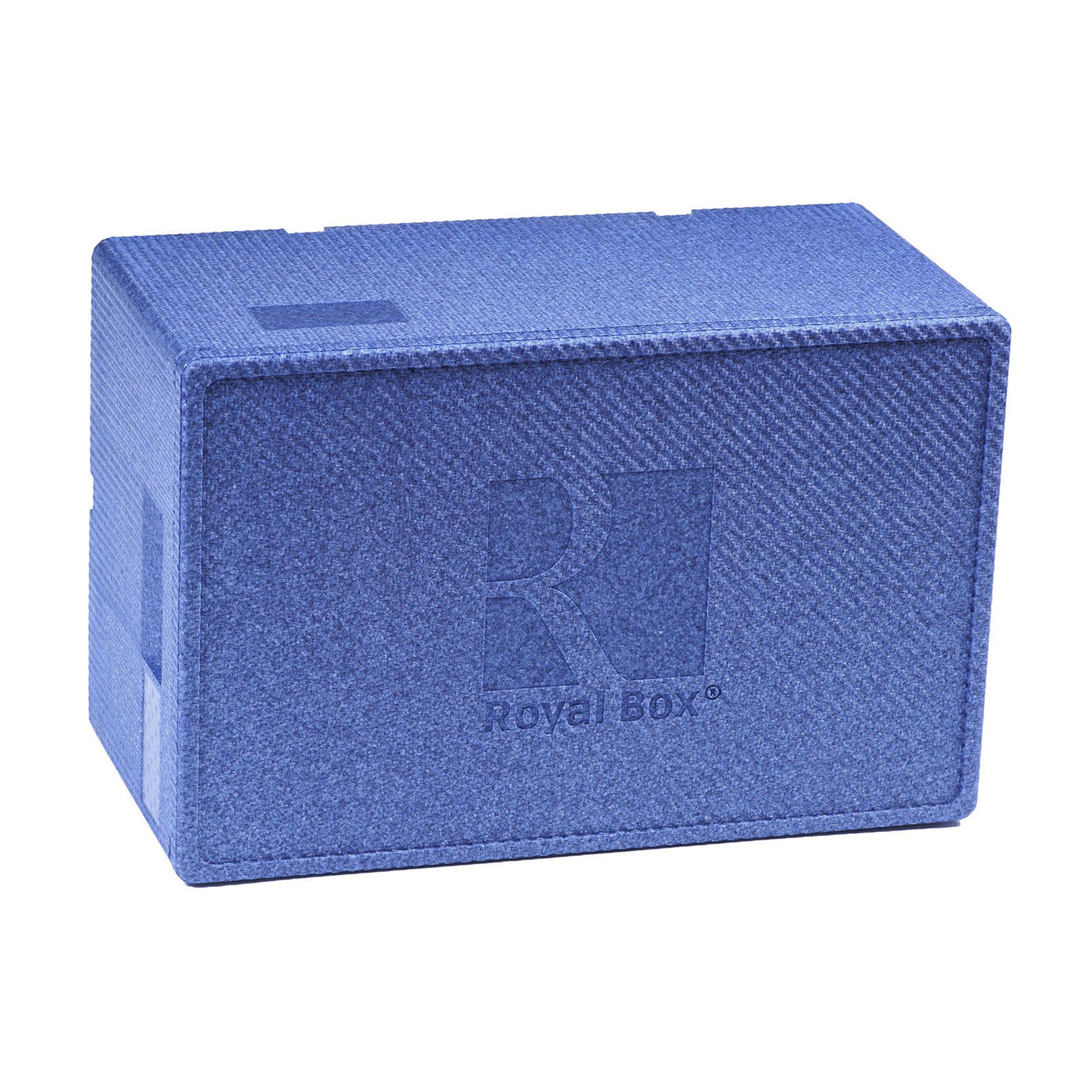 Контейнер изотермический Royal Box UNIQUE BLUE 42 л