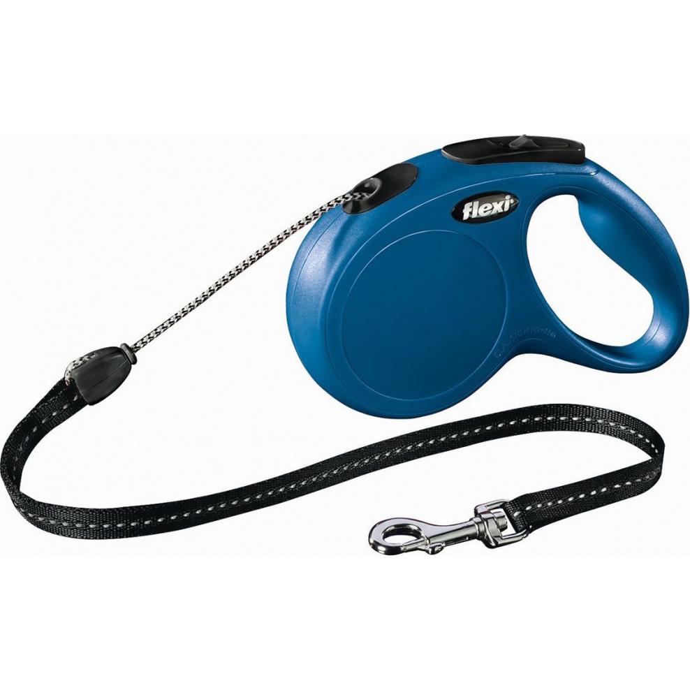 Рулетка для собак FLEXI Classic M до 20 кг 8 м Синий
