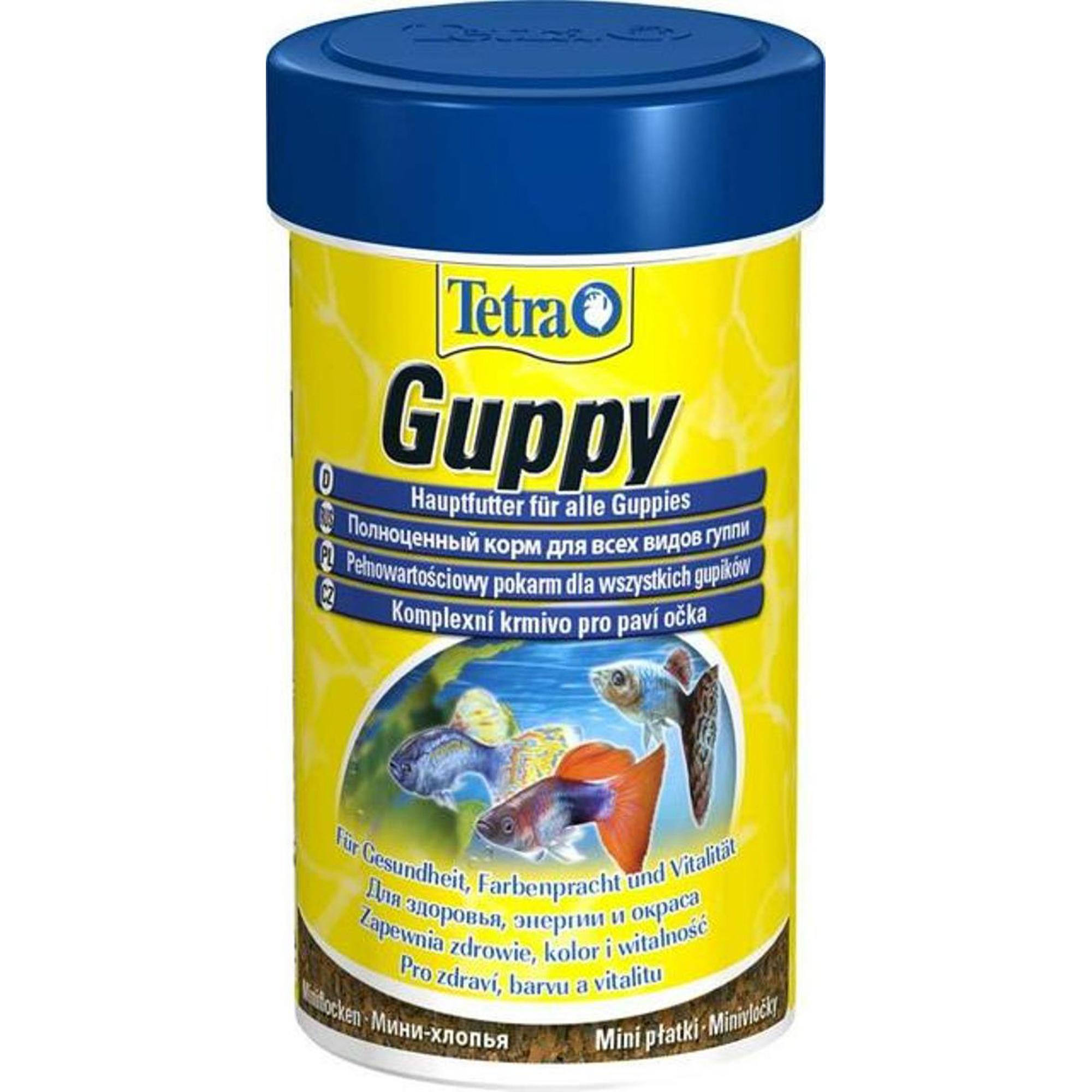 Корм для рыб TETRA Guppy 100мл.