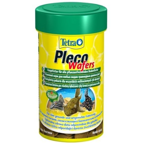 Корм для рыб TETRA Pleco Wafer для сомиков-присосок 250мл.