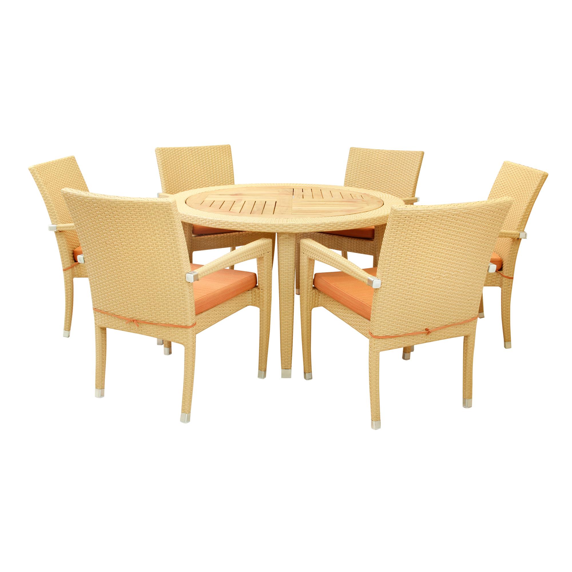 комплект мебели Derong 7 предметов Dr 3123tdr 3123c