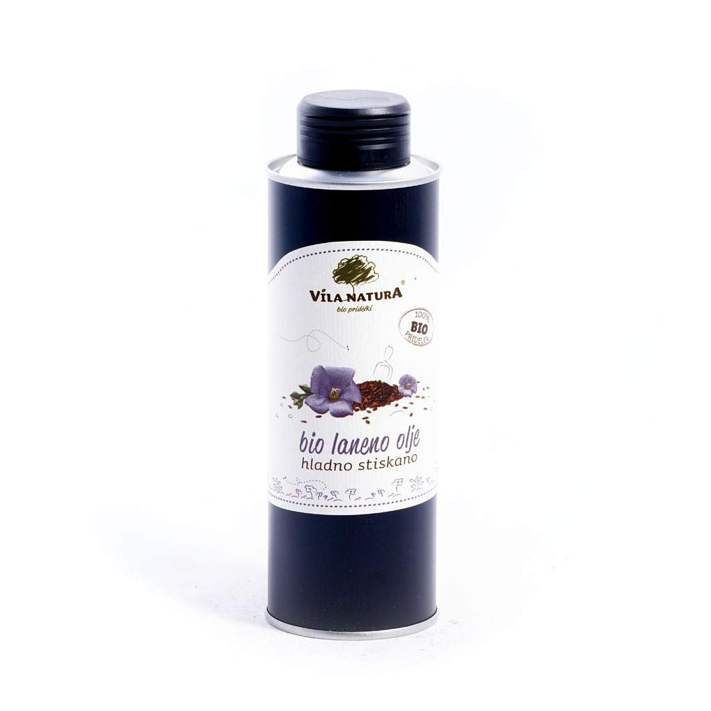 Льняное масло VILA NATURA 250 мл