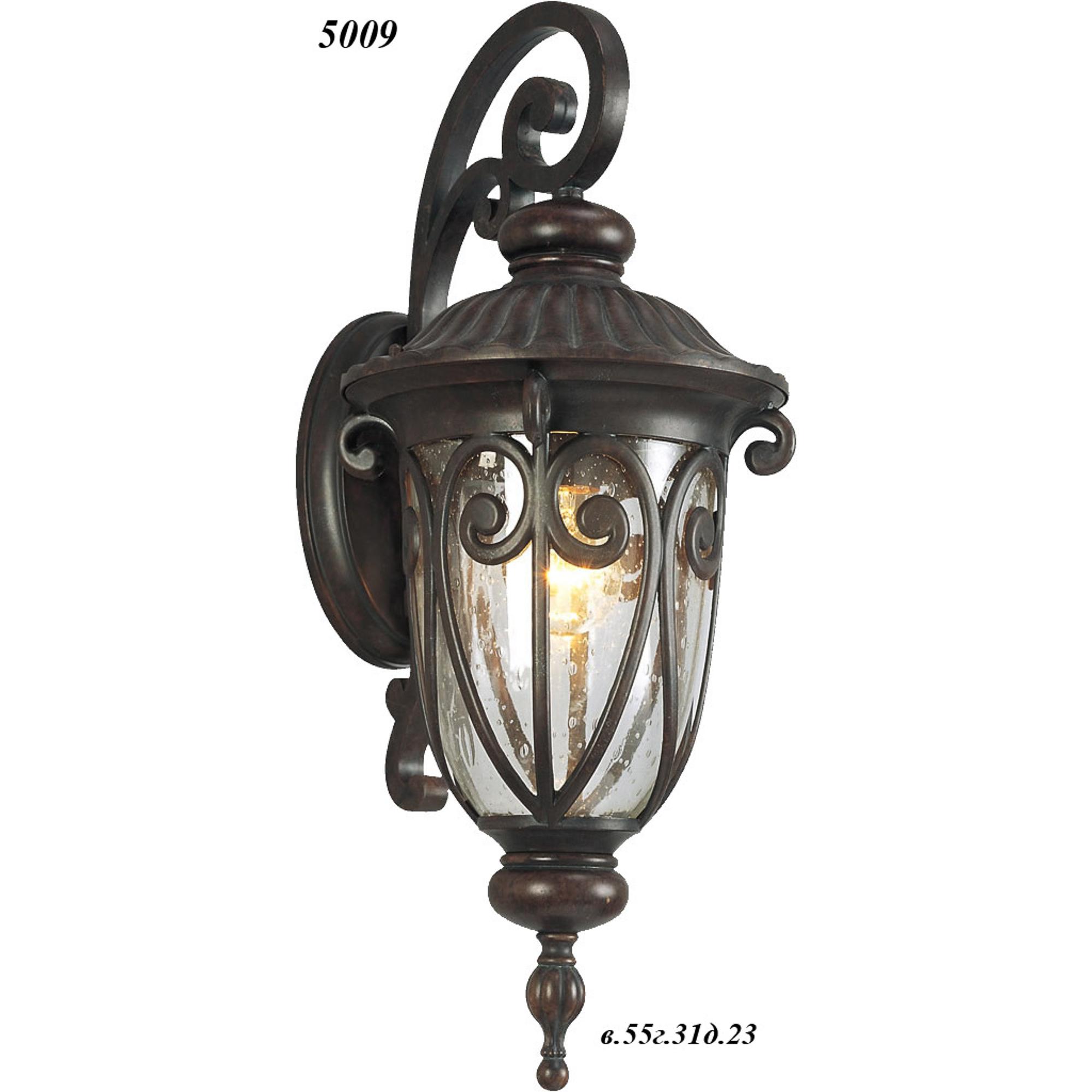 Бра Catic 5009 ковка/темно-коричневый