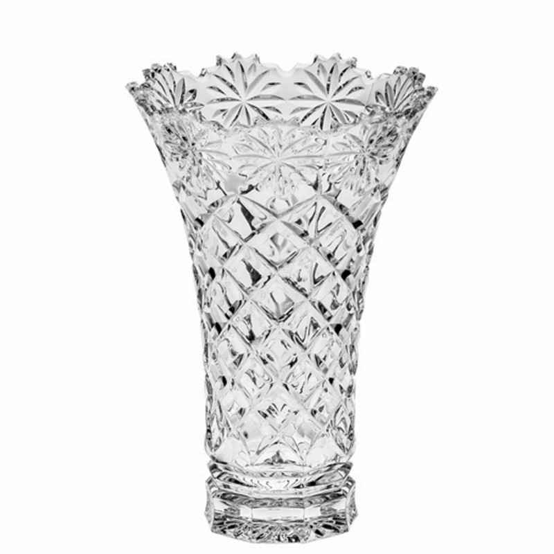 Ваза Crystal Bohemia Daisy 20,5 см часы настольные crystal bohemia 21 5 см