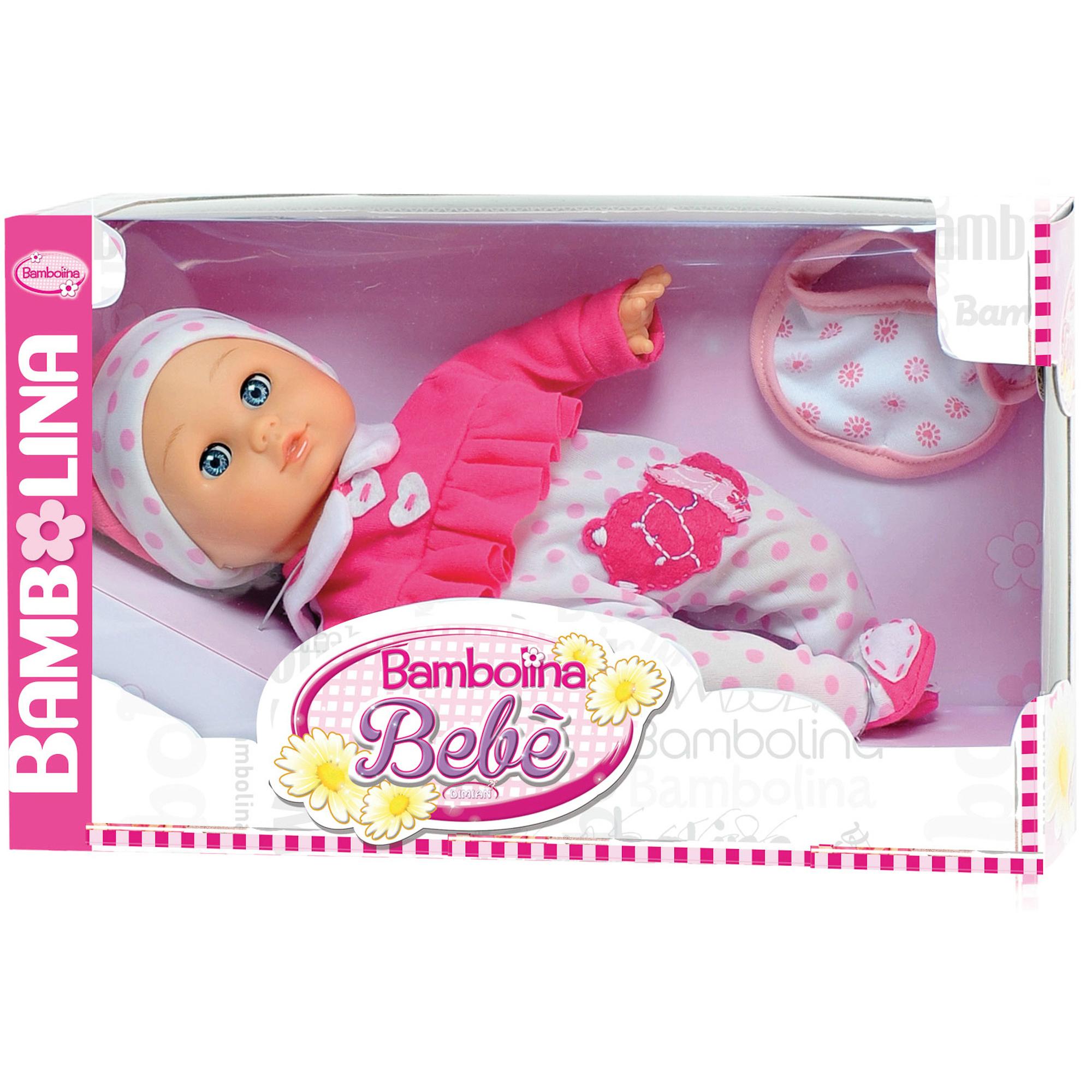 Фото - Пупс интерактивный 34см Bambolina bebe BD348RU интерактивный пупс baby doll