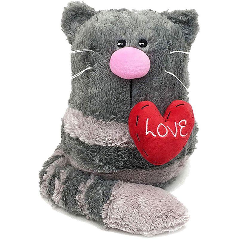 Фото - Мягкая игрушка Gulliver Кото-фей с сердцем 23 см мягкая игрушка gulliver пушистый хвостик лисичка 30 см
