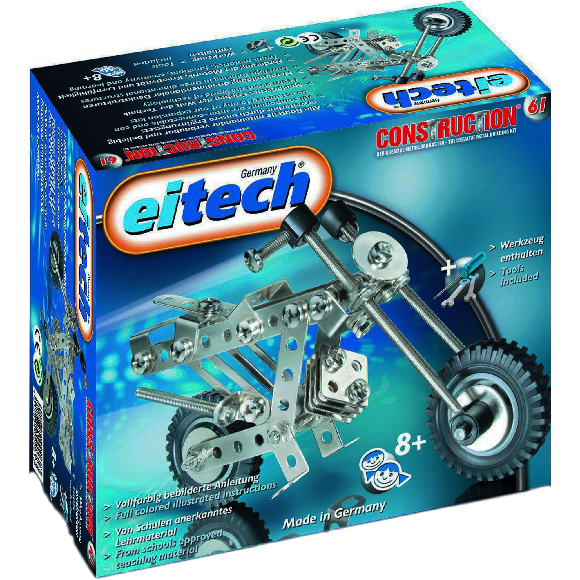 Купить Конструктор Eitech Moto, Германия, металл, для мальчиков, Конструкторы, пазлы