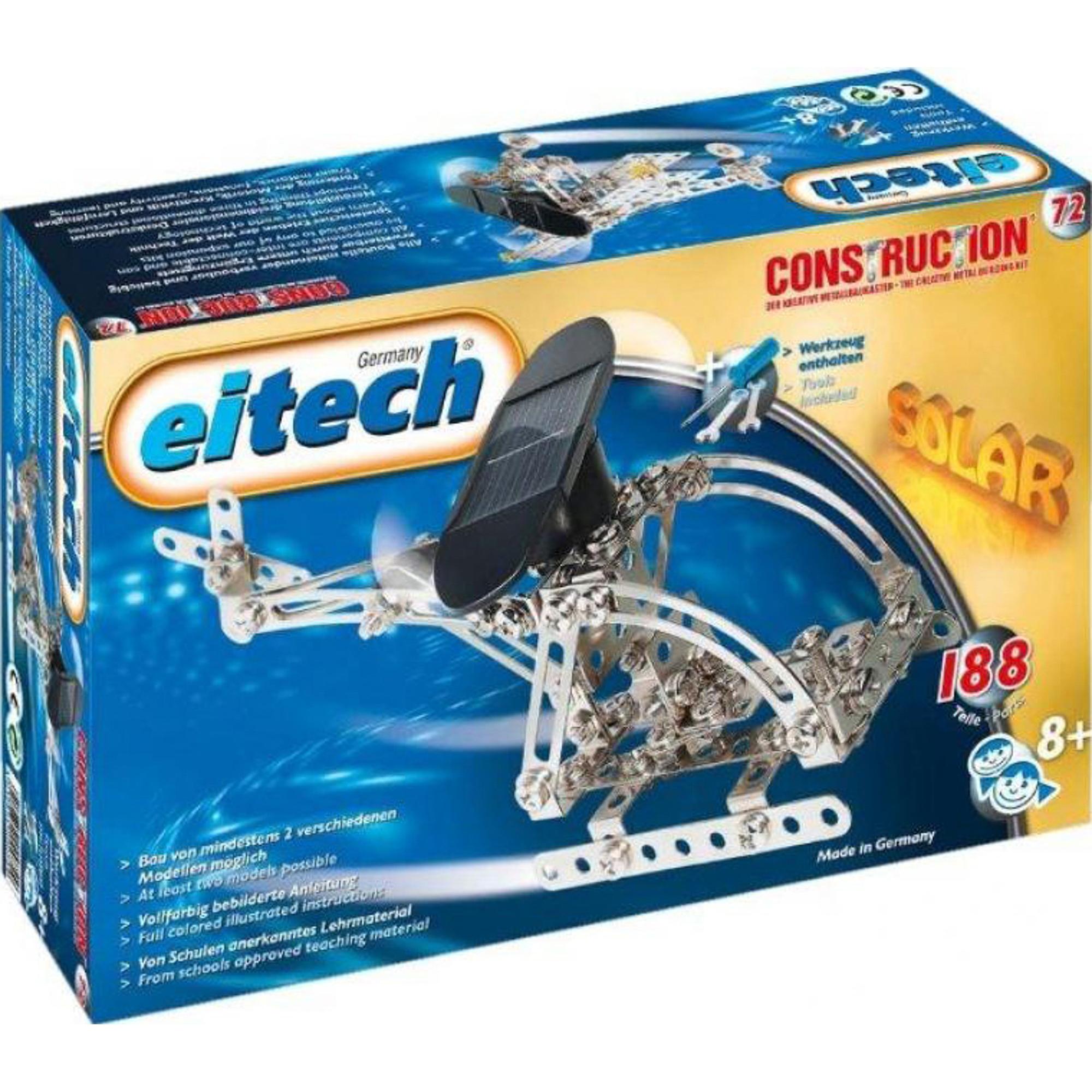 Купить Конструктор Eitech Вертолет, Германия, металл, для мальчиков, Конструкторы, пазлы
