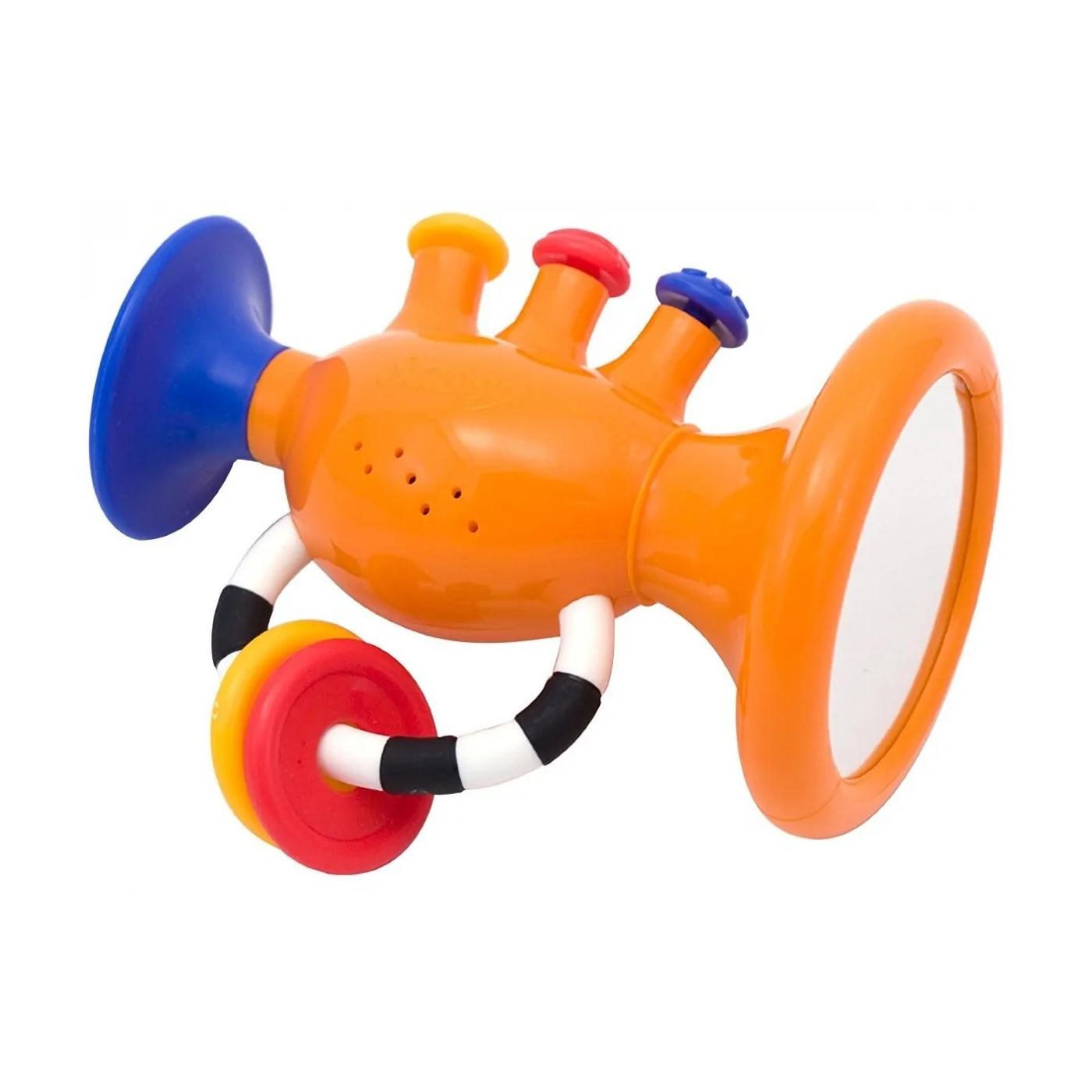 Фото - Музыкальная игрушка Sassy Труба с зеркальцем (80040EP) музыкальная игрушка sassy мой телефон 20 см