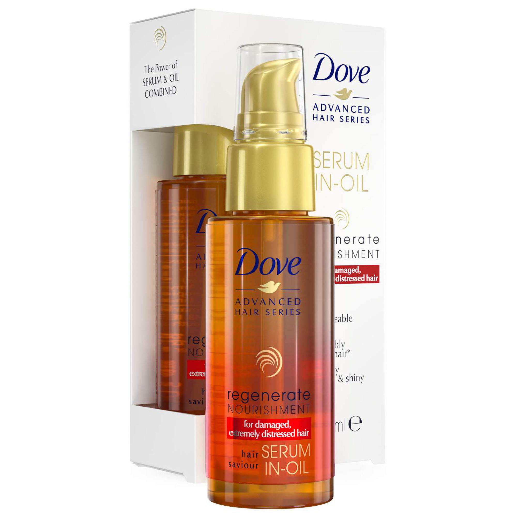 Масло-сыворотка для волос Dove Advanced Hair Series Прогрессивное Восстановление 50 мл масло для запечатывания кончиков волос восстановление и защита hair evolution caviar therapy bio hair oil 120мл