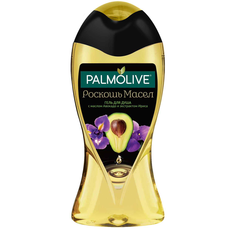 Гель для душа Palmolive Роскошь Масел с маслом Авокадо и экстрактом Ириса 250 мл гель для душа palmolive роскошь масел с экстрактом инжира белой орхидеи и маслами 250 мл 2 шт