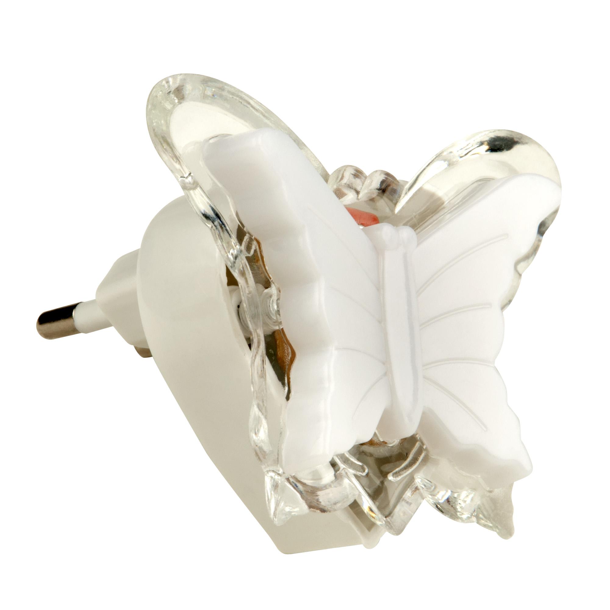 Ночник светодиодный rgb Uniel dtl-308 бабочка