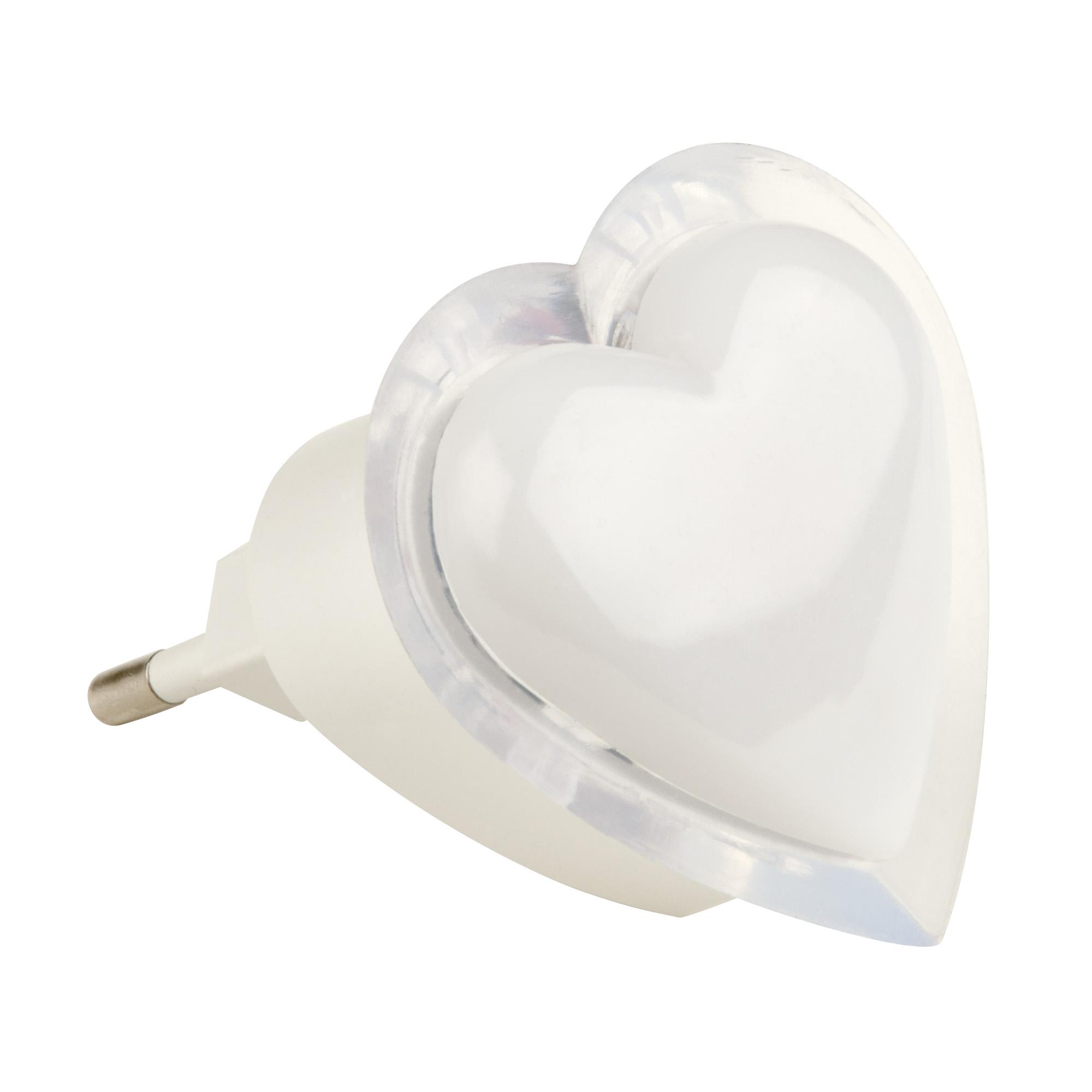 Ночник светодиодный rgb Uniel dtl-308 сердечко