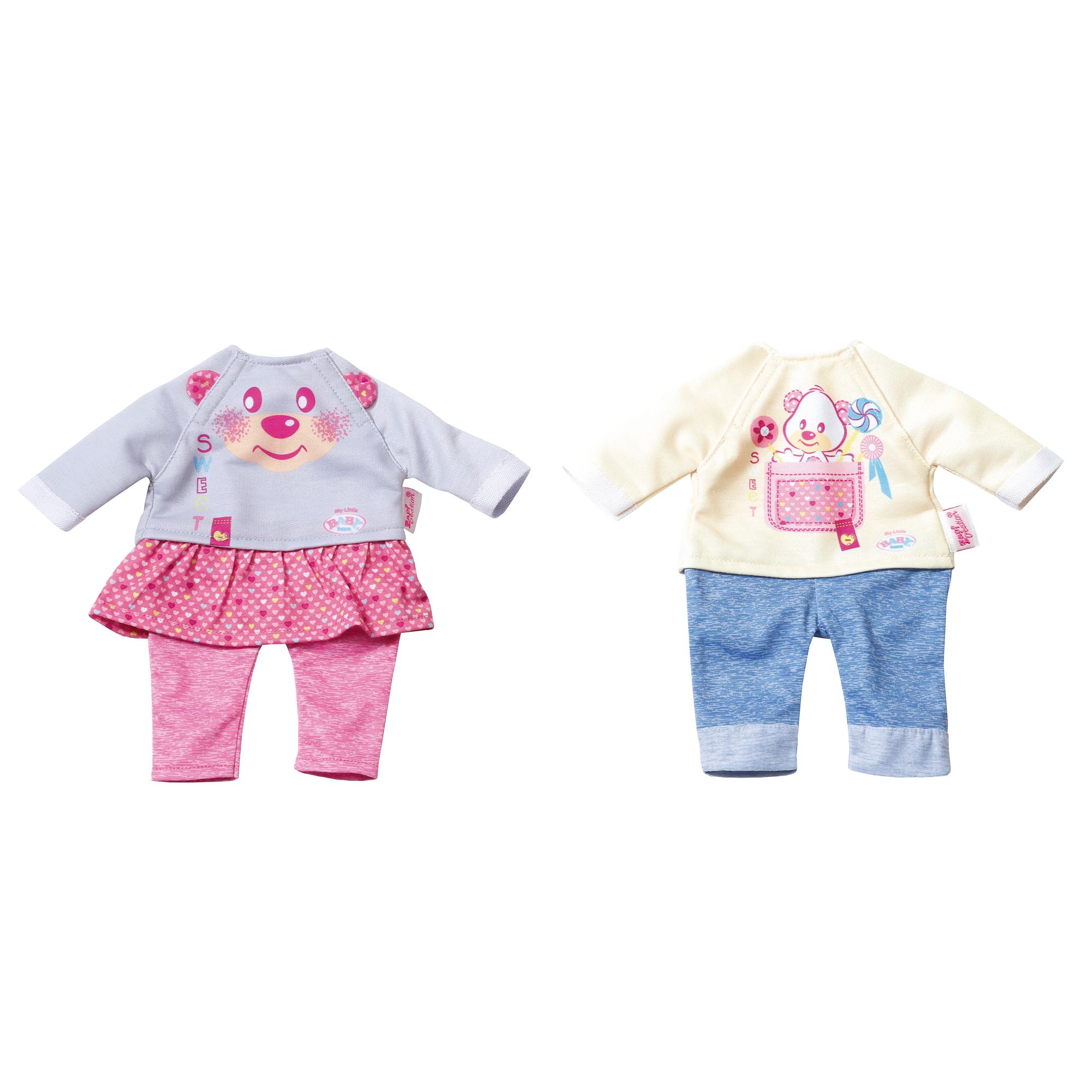 Купить Набор кукольной одежды для дома My Little Baby Born 32 см Zapf Creation, Китай, Кукольные аксессуары