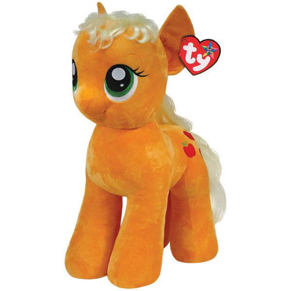 Купить Мягкая игрушка TY My Little Pony Пони Apple Jack 70 см, Китай, искусственный мех, ткань, пластик