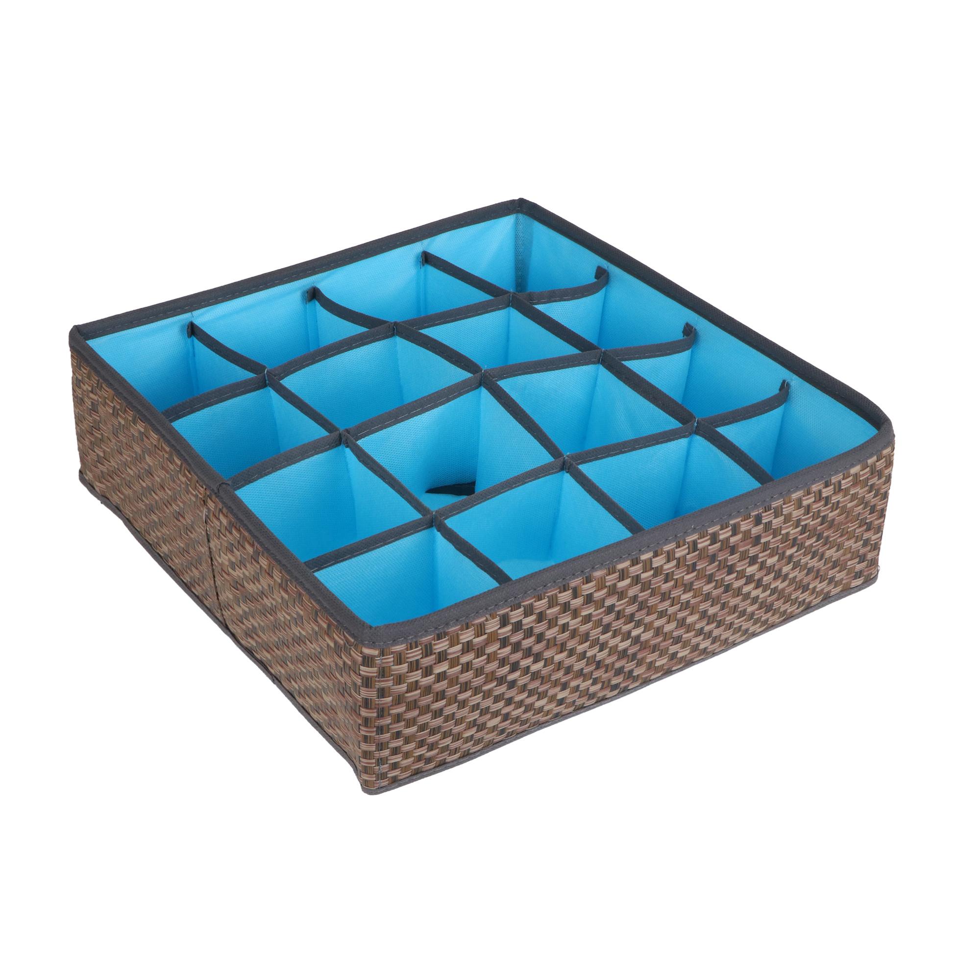 Органайзер Casy home для носков/чулок/колготок синий