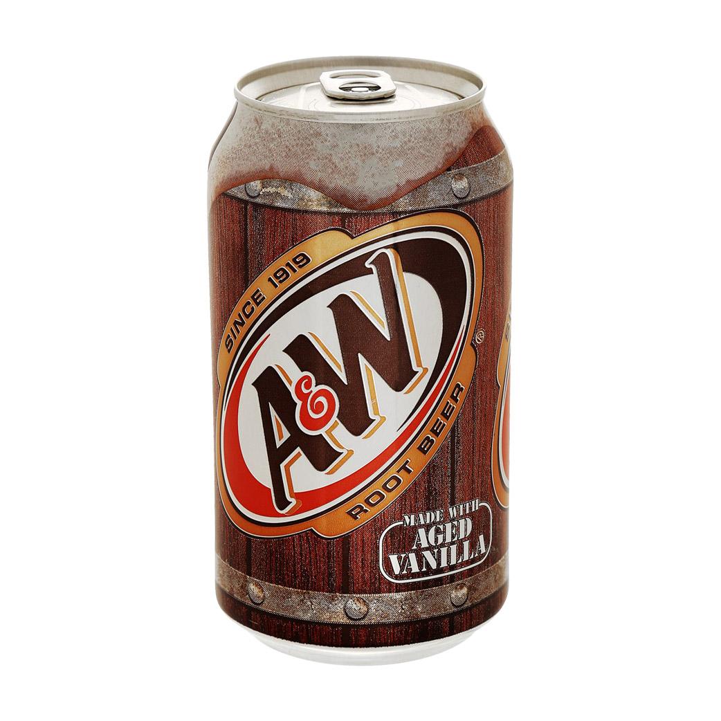 Напиток газированный A&W Root Beer 0,355 л