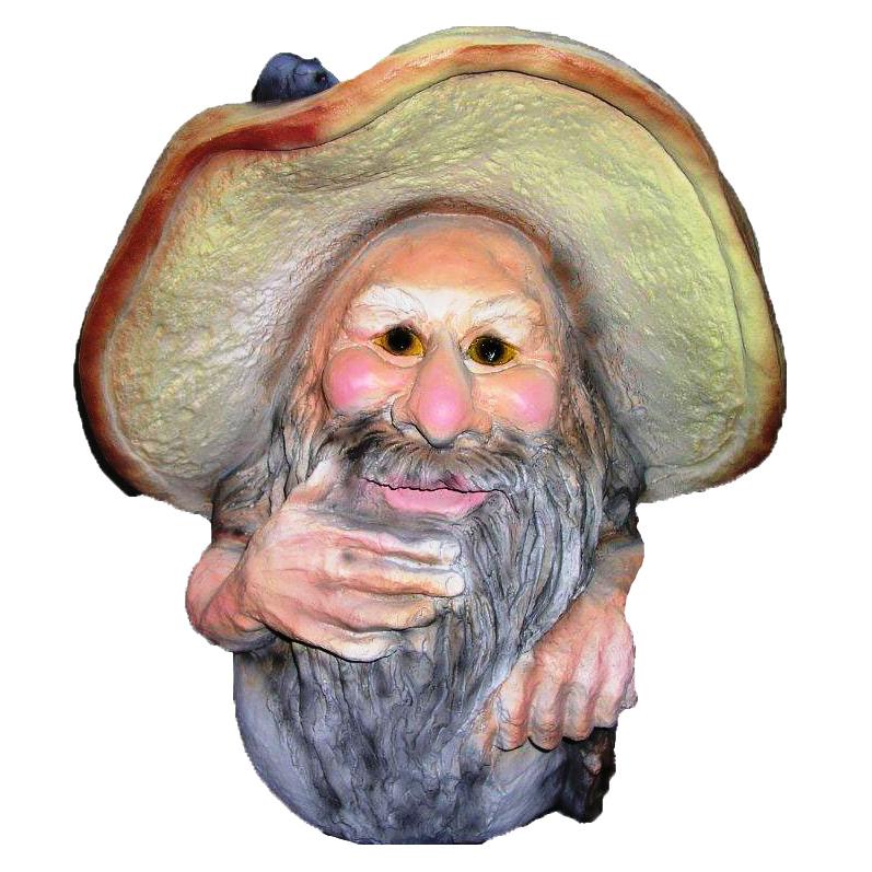 Фигура садовая Старичок-Боровичок ТПК Полиформ (F232)