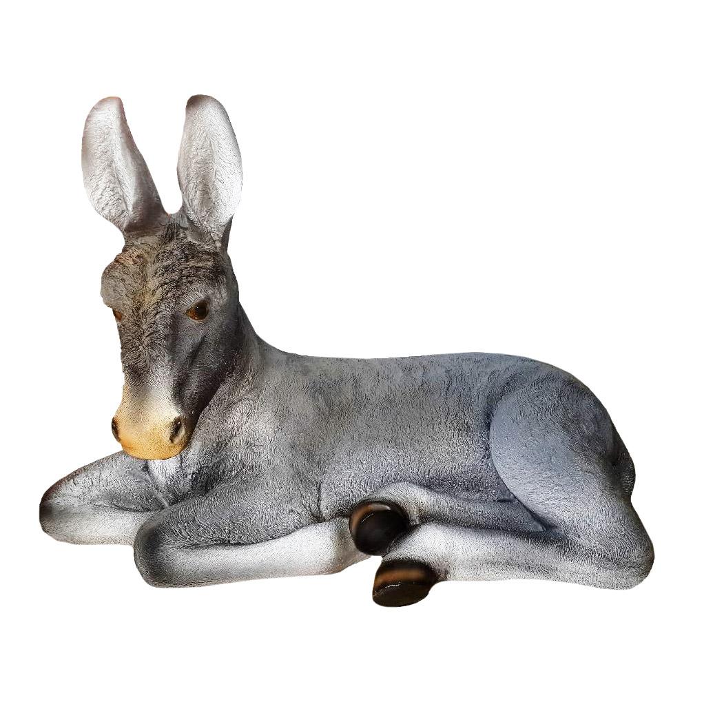 Фигура садовая ТПК Полиформ Ослик лежит