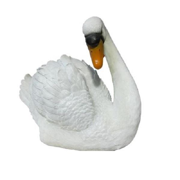 Фигура садовая Лебедь большой Тпк полиформ