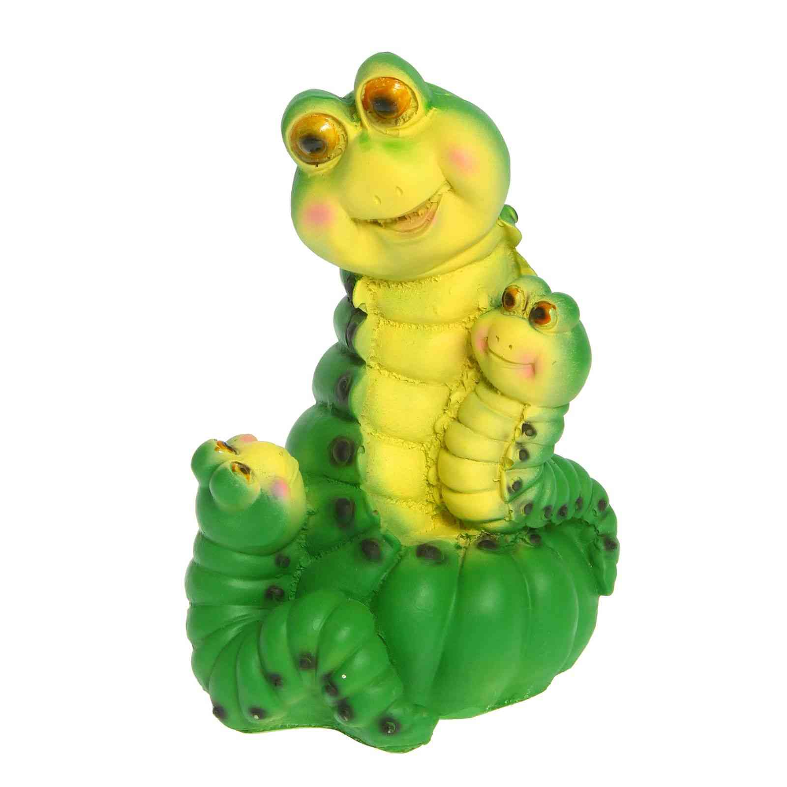 Фигура садовая Гусеницы семья Тпк полиформ