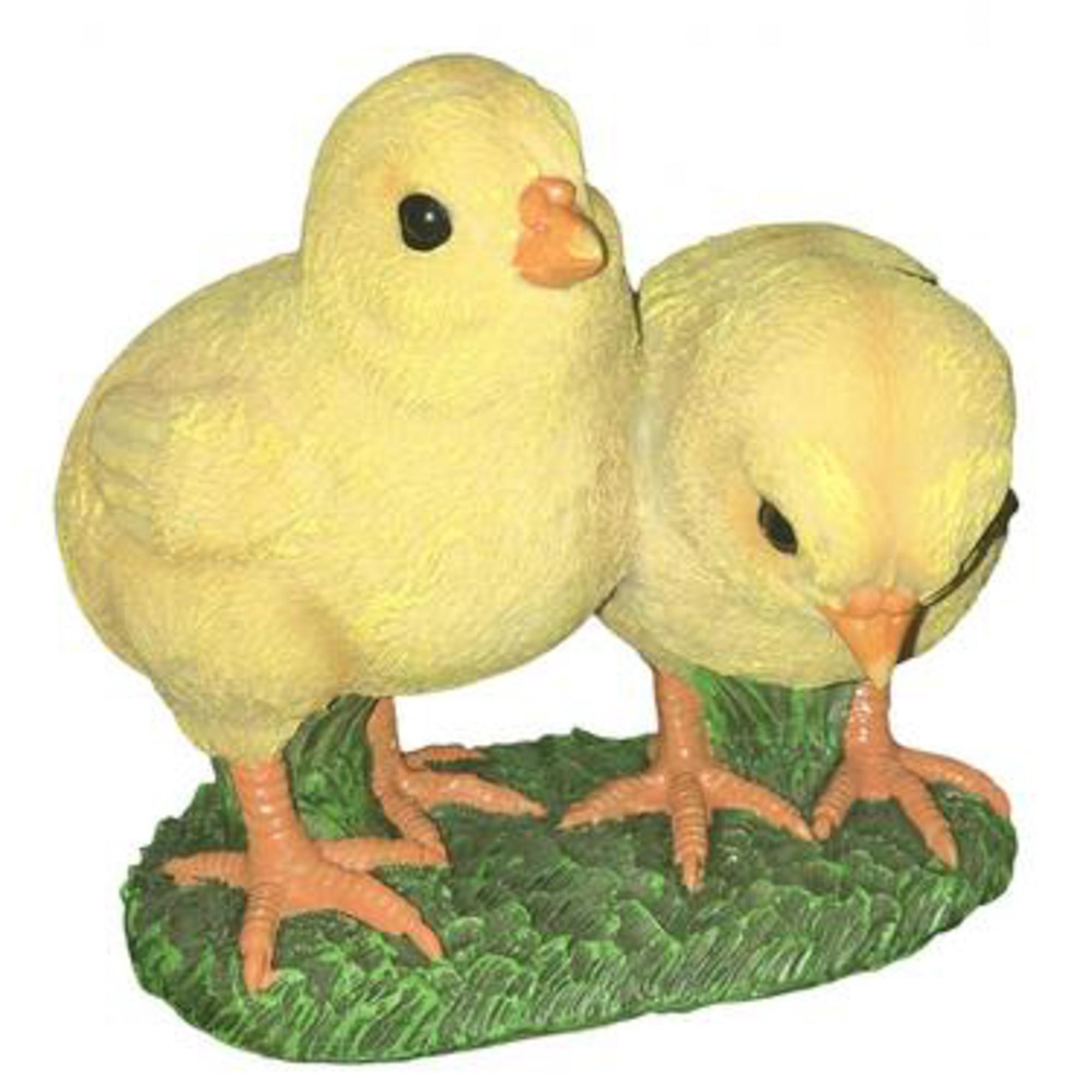 Фигура садовая Цыплята пара Тпк полиформ