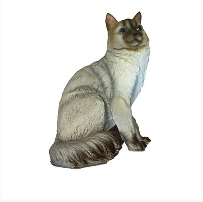 Фигура садовая Кошка сидит Тпк полиформ садовая техника