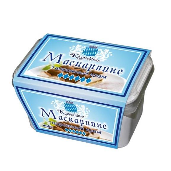 Творожный крем Kaseschloss Маскарпоне 70% 400 г