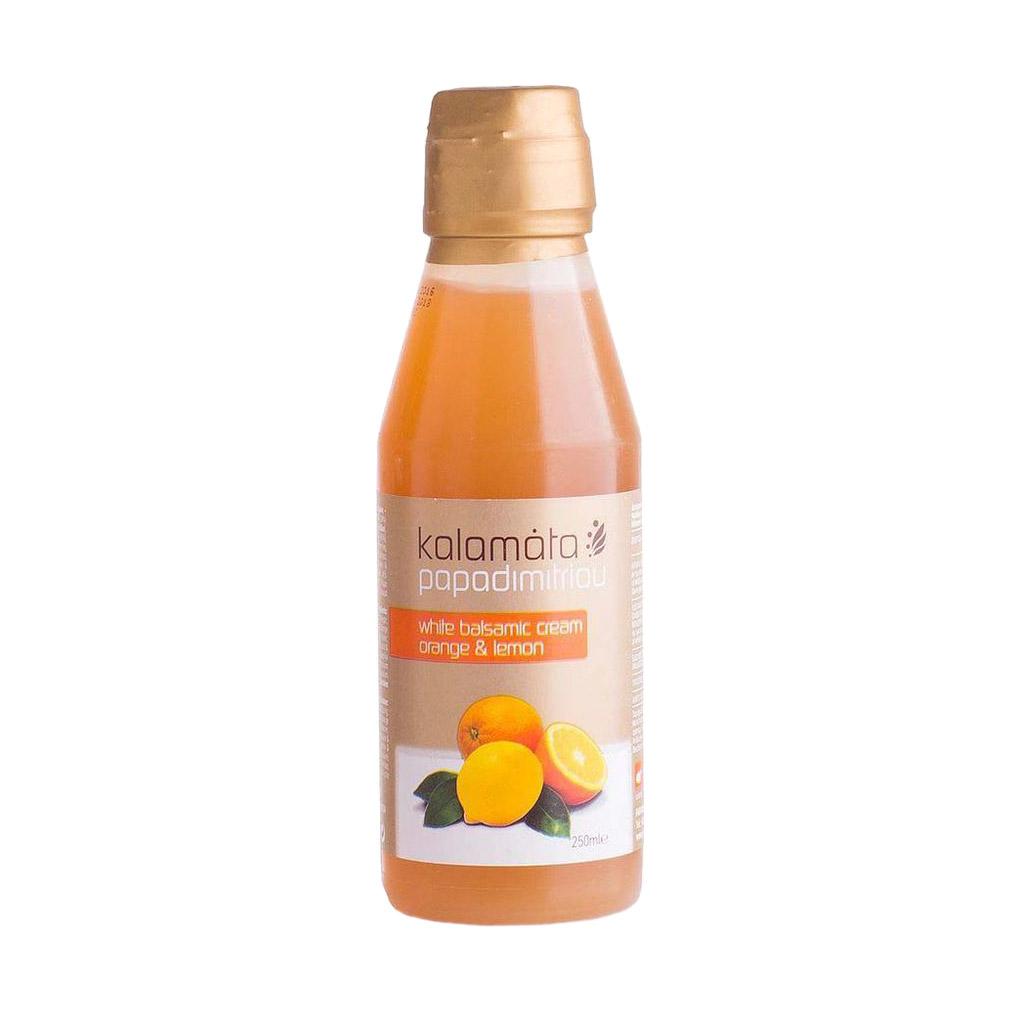 Соус бальзамический Papadimitriou апельсин и лимон 250 мл бальзамический крем papadimitriou с апельсином и лимоном 250 мл