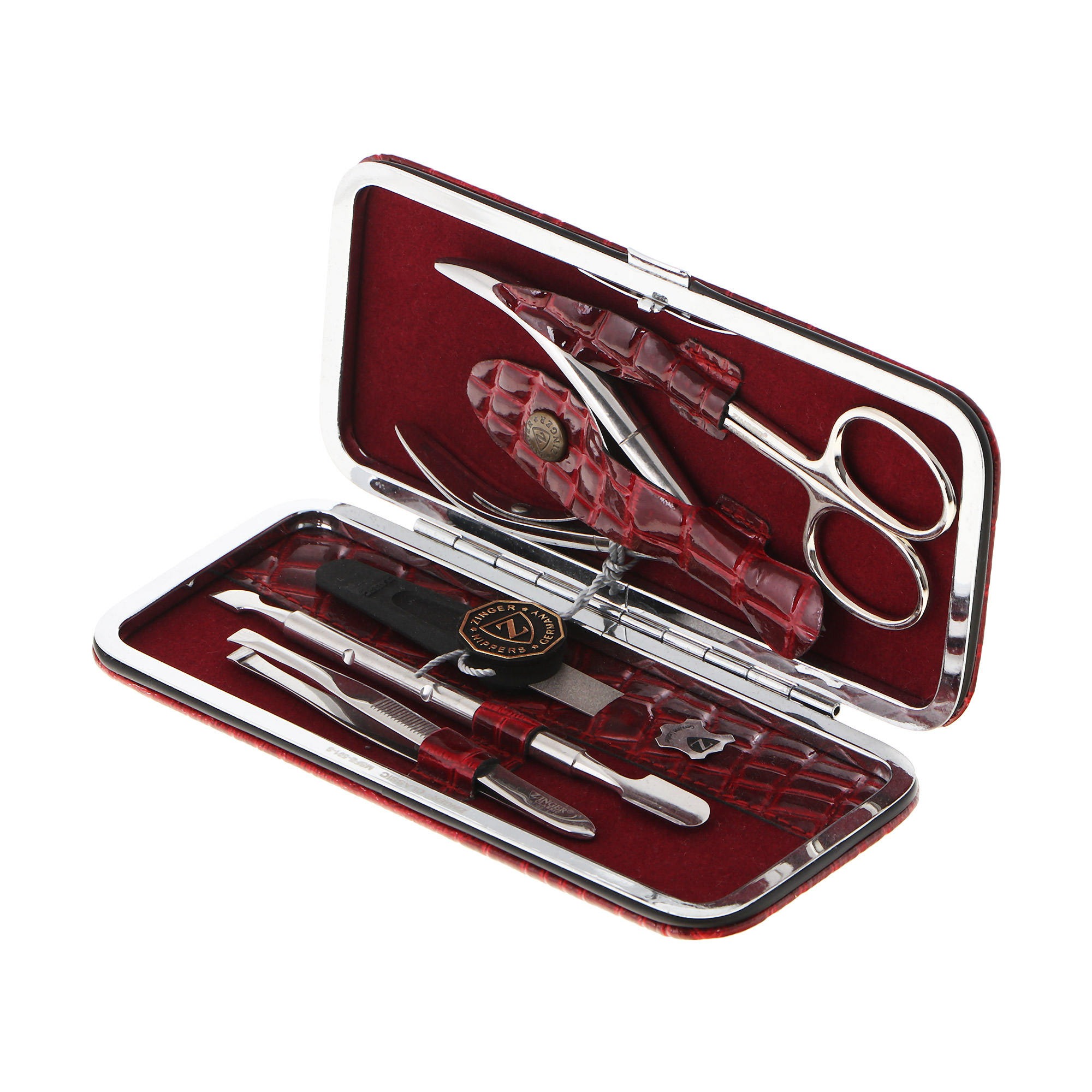 Набор маникюрный Zinger ms-501 аксессуар маникюрный набор zinger sis 60