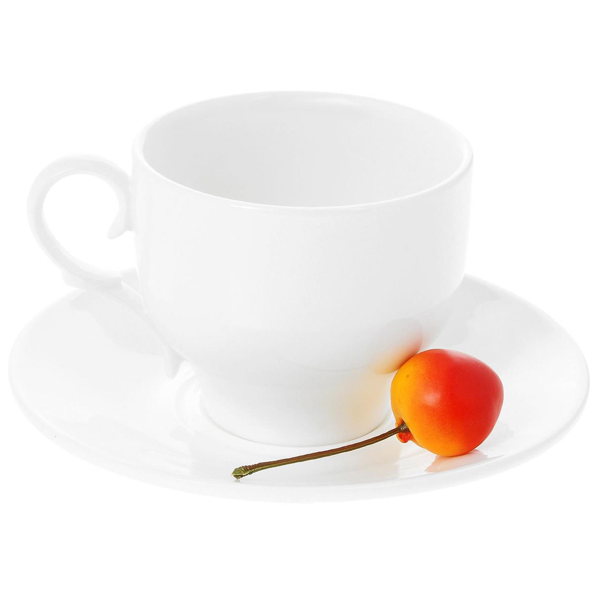 Чашка чайная & блюдце 220мл 2 пары Wilmax