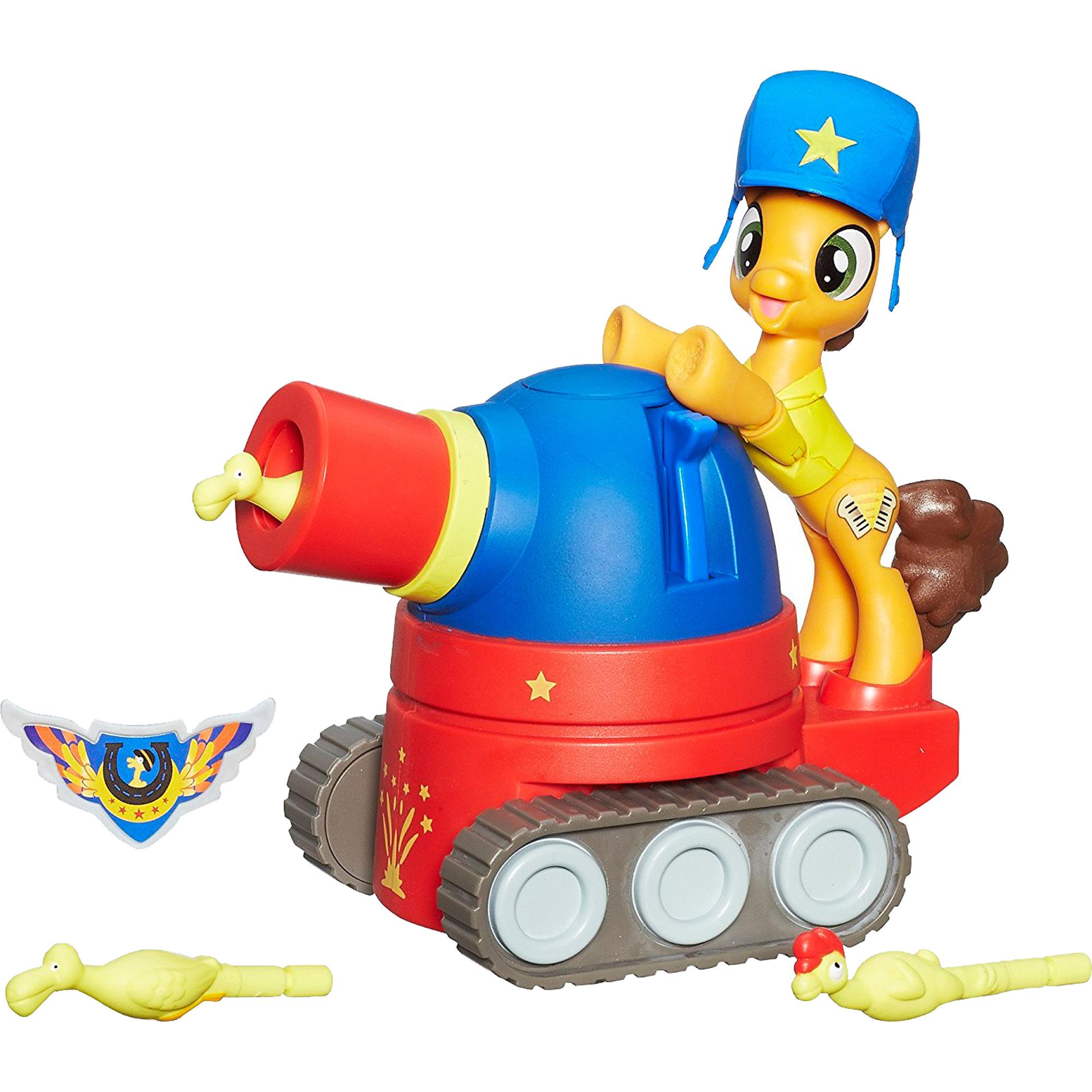 Игровой набор Hasbro My Little Pony Чиз Сэндвич на праздничном танке