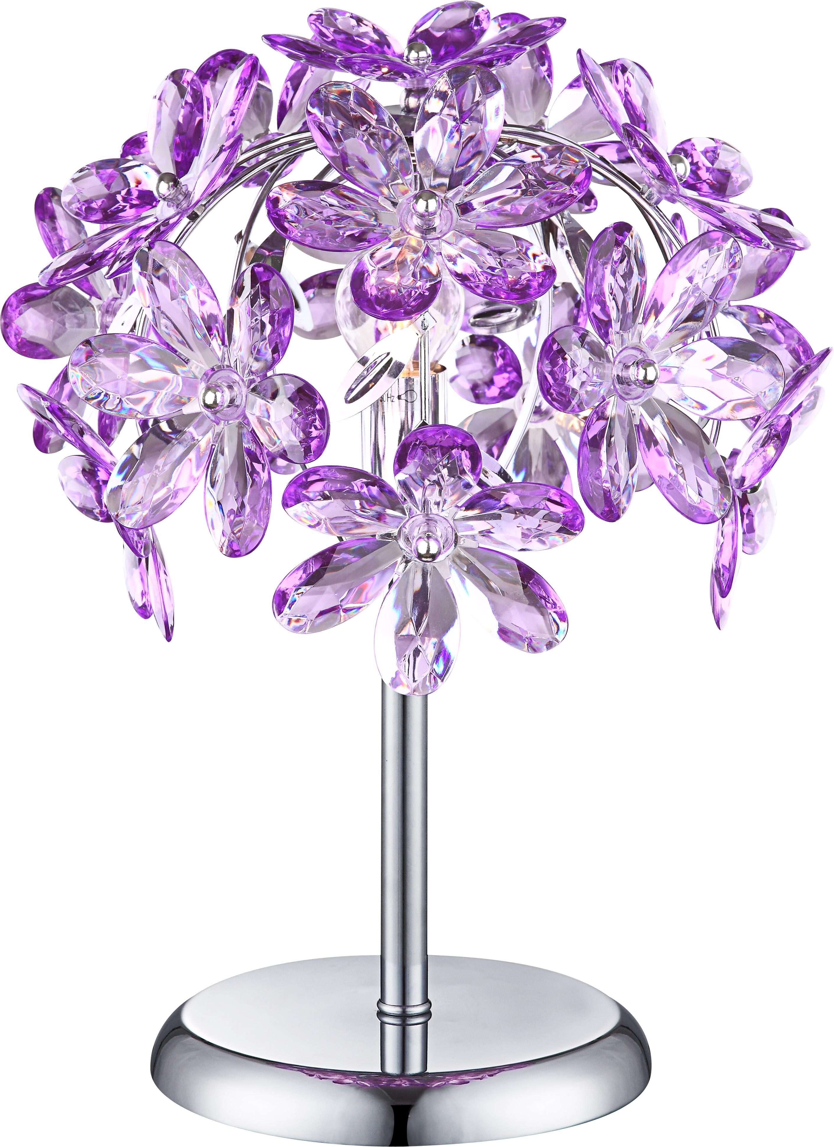 Лампа настольная Globo Purple 5142-1T