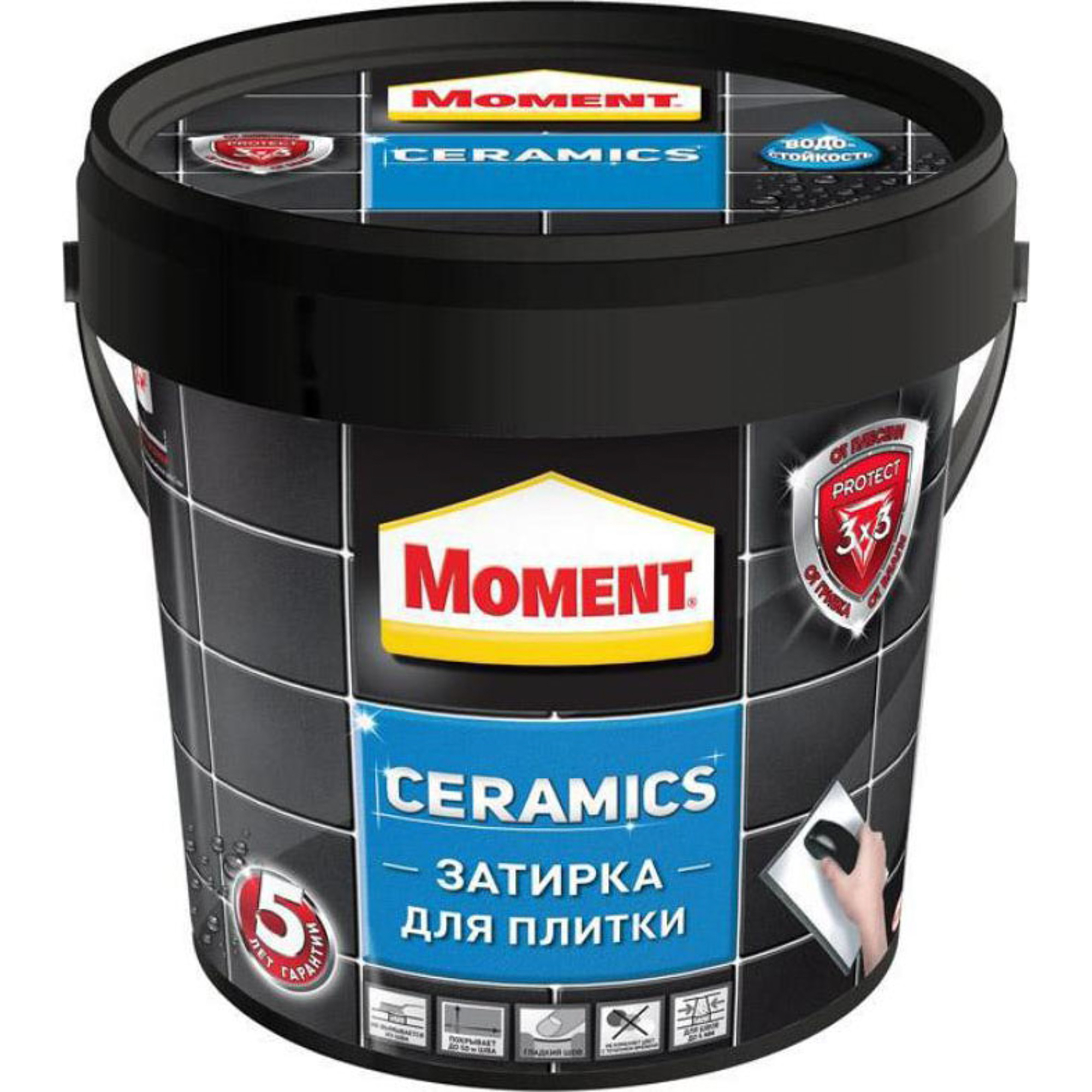 Затирка Момент Ceramics темно-коричневая 1 кг
