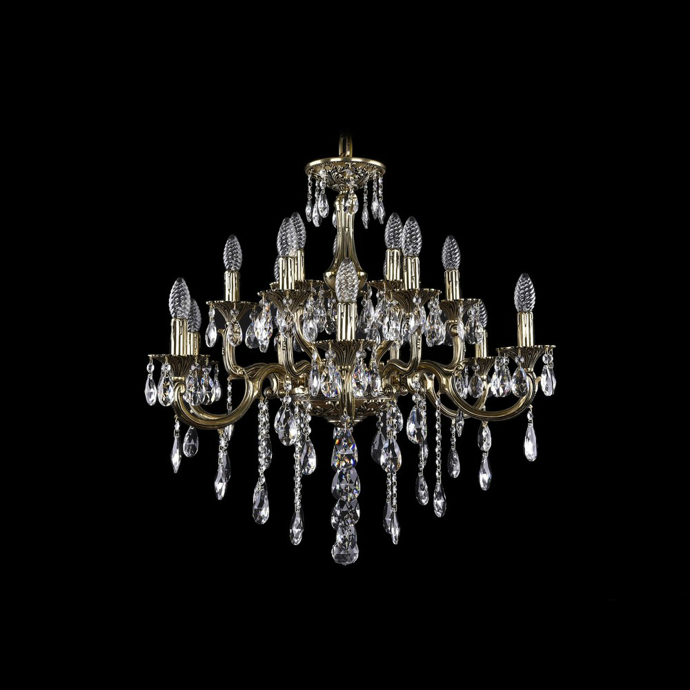 Люстра Bohemia Ivele Crystal 1716/8+8+4/265B GB люстра bohemia ivele crystal 1703 1703 12 320 c gb e14 480 вт
