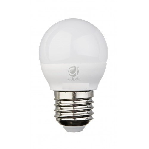 Лампа матовая Ambrella light led b45-pr 8w e27 4200k /75w/ 0 pr на 100