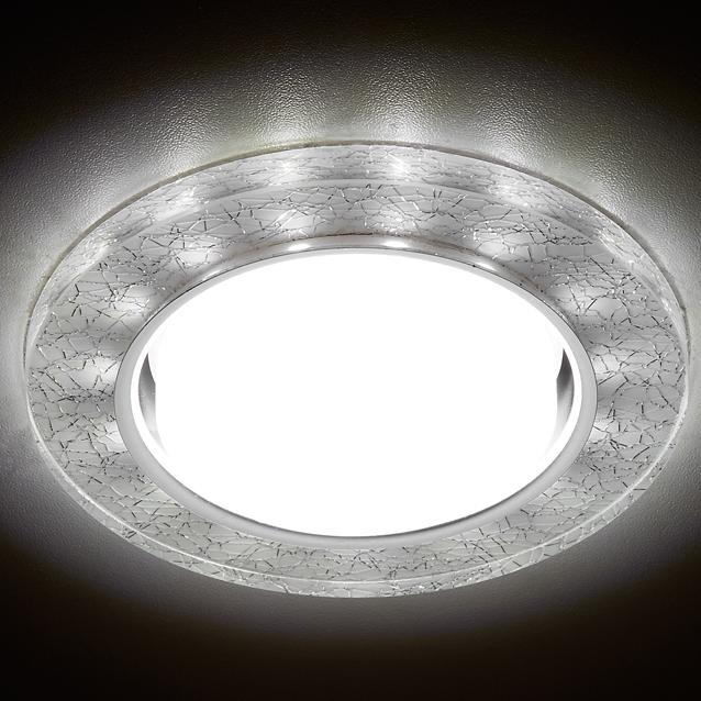 Фото - Светильник gx53+3w/led/ Ambrella light G248 W/CH светильник ambrella light s255 ch led