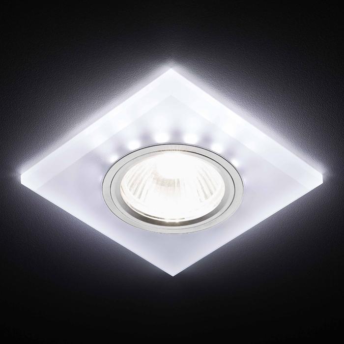 Светильник  /mr16+3w/led/ Ambrella light S215 W/CH/WH фото