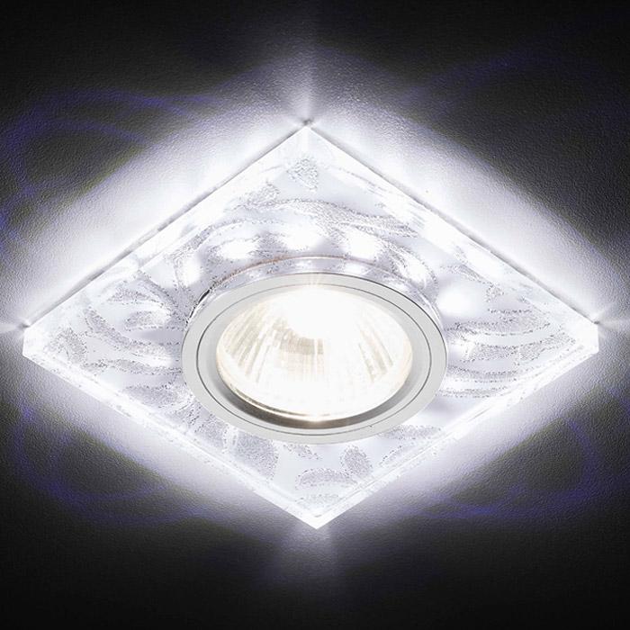 Встраиваемый светильник Ambrella LED S234 W/CH/WH встраиваемый светильник ambrella light d1172 w ch