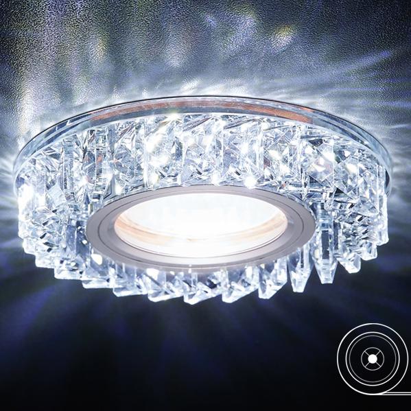 Фото - Светильник хруст/mr16+3w/led/ Ambrella light S255 CH светильник ambrella light s255 ch led
