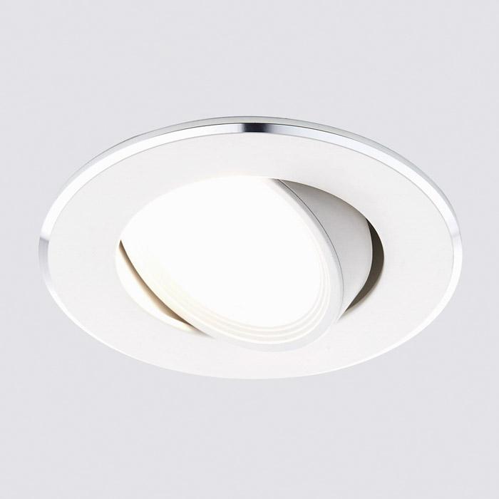 Точечный белый светильник Ambrella Classic A502 W