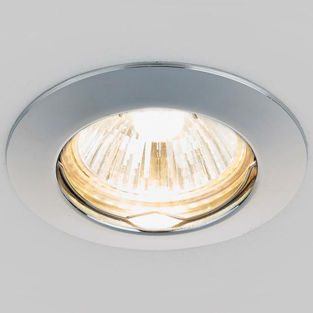 Светильник хром mr16 Ambrella light 863A CH