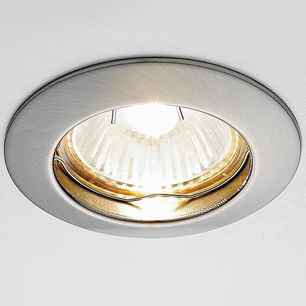Светильник сатин никель mr16 Ambrella light 863A SN