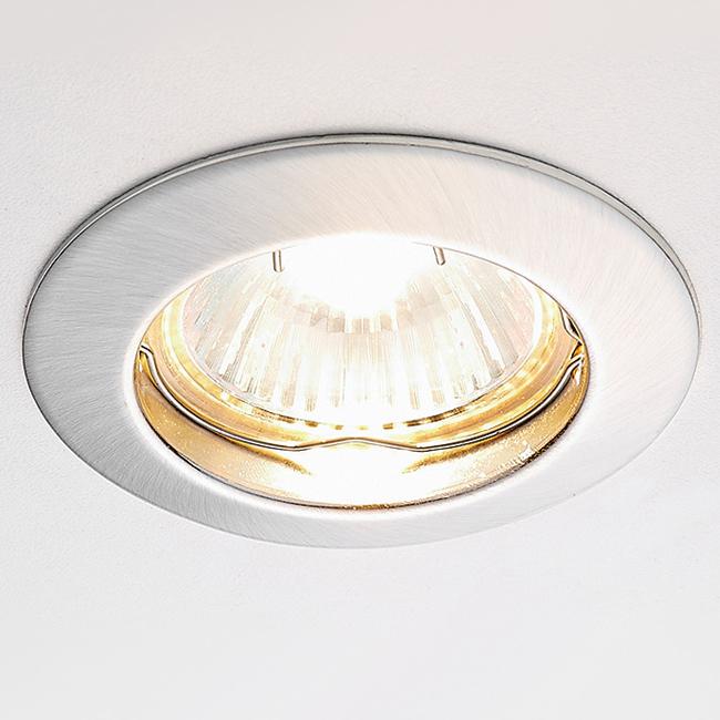 Светильник сатин серебро mr16 Ambrella light 863A SS