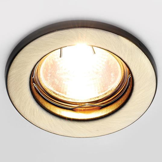 Светильник точечный Ambrella light ft9210 sb бронза mr16