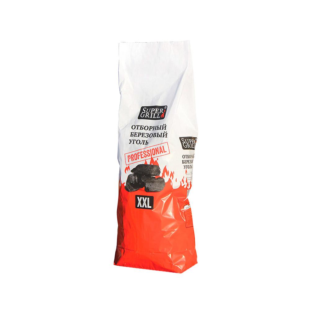 Уголь березовый xxl supergrill 8 кг. (2512).