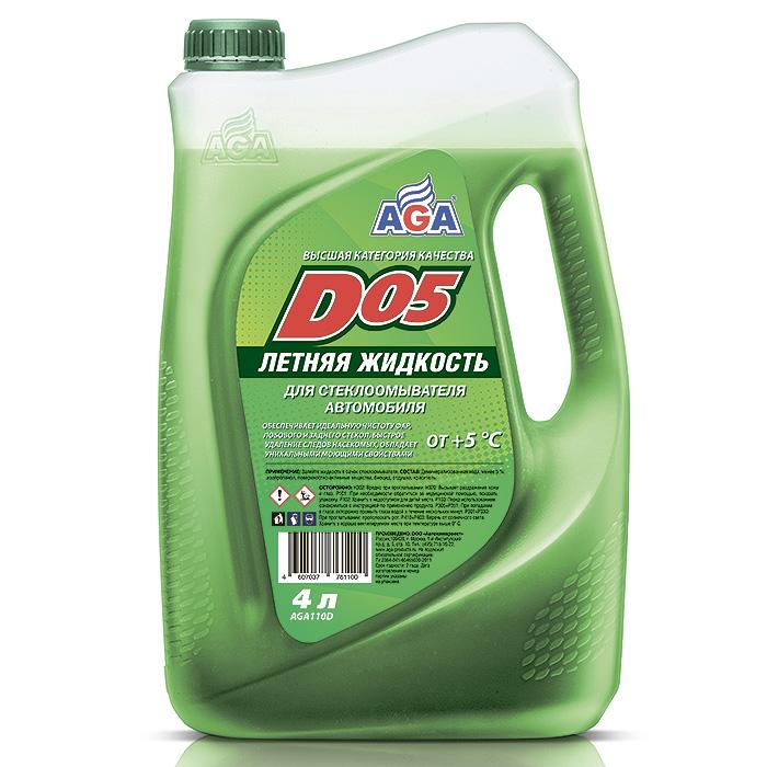 Жидкость летняя для стеклоомывателей летняя Aga d05.