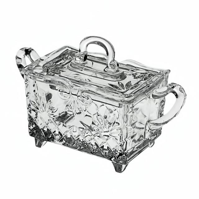 Сахарница с крышкой baroque 14см Crystal Bohemia